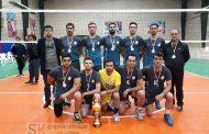 کسب مقام نایب قهرمانی تیم والیبال شرکت سیمان آبیک در مسابقات قهرمانی کارگران کشور