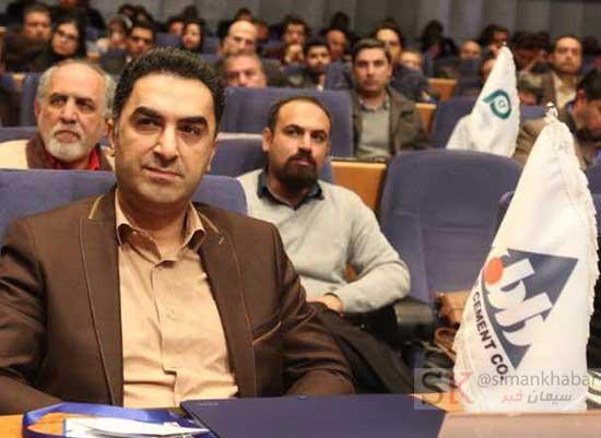 انتخاب مدیرعامل شرکت سیمان داراب بعنوان مدیر کارآفرین برتر کشور