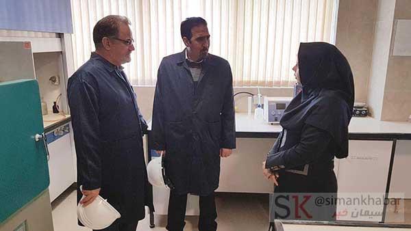 بازدید مدیران پژوهشگاه صنعت نفت از کارخانه شرکت سیمان شرق