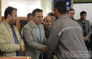 برگزاری مراسم گرامیداشت دهه فجر در کارخانه صنایع سیمان گیلان سبز