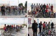 همایش دوچرخه سواری سه شنبه های بدون خودرو در کنگان برگزار شد