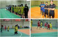 برگزاری مسابقات جام دهه فجر در کارخانه سیمان کنگان