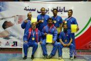 قهرمانی تیم پرس سینه پیشکسوتان شرکت سیمان خاش درمسابقات قهرمانی کشور