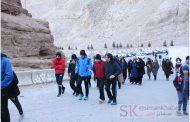 همایش پیاده روی کارکنان شرکت سیمان ممتازان کرمان به مناسبت گرامیداشت دهه فجر