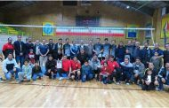 برگزاری مسابقات والیبال در شرکت سیمان ممتازان