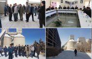 حضور نماینده مجلس و مسئولان استانی برای حل مشکلات کارخانه سیمان سفید ارومیه